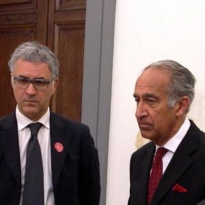 Tidu Maini, presidente di Qstp e Stefano Cuzzilla, presidente del Fasi