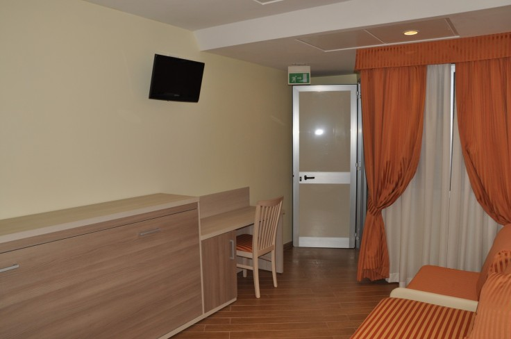 Ospedale Bambino Gesù stanza assistenza 02