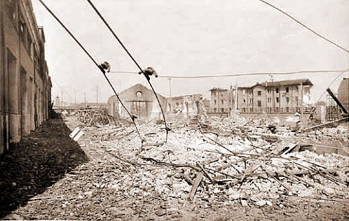 Officine centrali Atac - luglio 1943