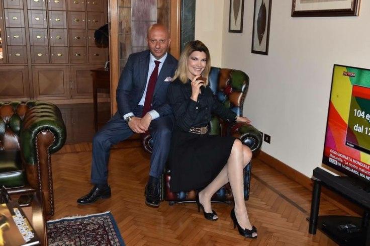 Giuseppe Cangemi e Erika Piatti